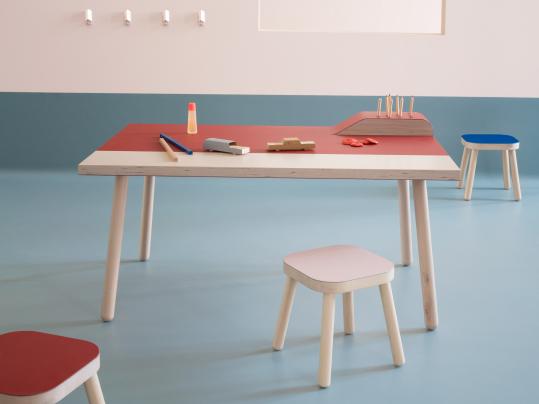Furniture Linoleum 4164-4185 kids6 table stools portrait