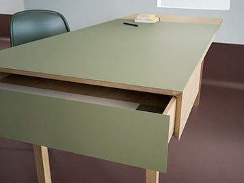Furniture Linoleum 4184 desk detail