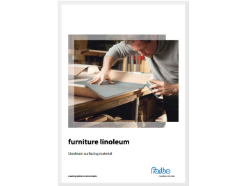 brochure Furniture linoleum