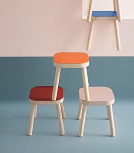Furniture linoleum stools