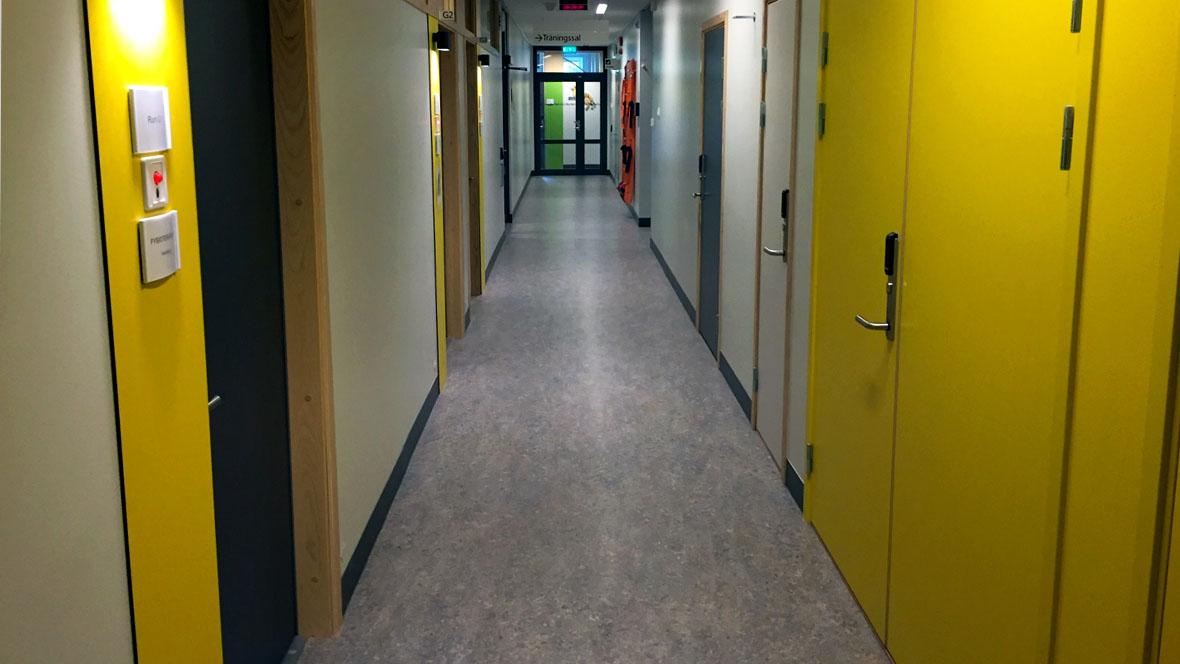 Angereds Närsjukhus korridor