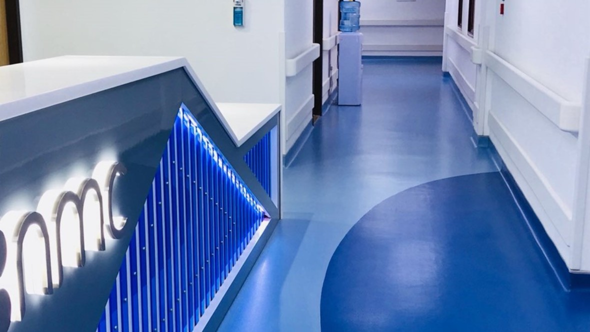 NMC Hospital Sarlon | Forbo Flooring Systems