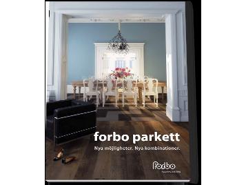 Broschyr Forbo Parkett