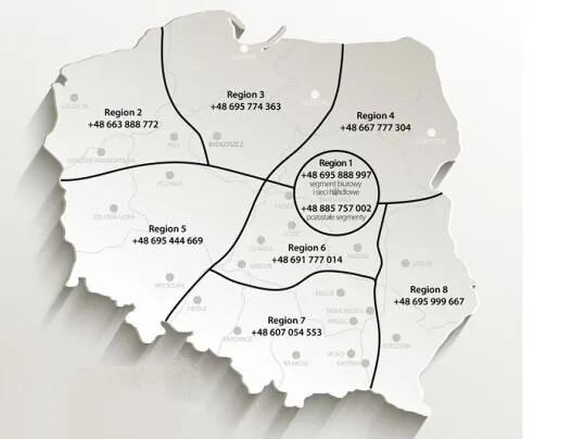 Regiones de venta