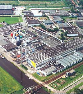 Linoleum Factory Assendelft airphoto 1