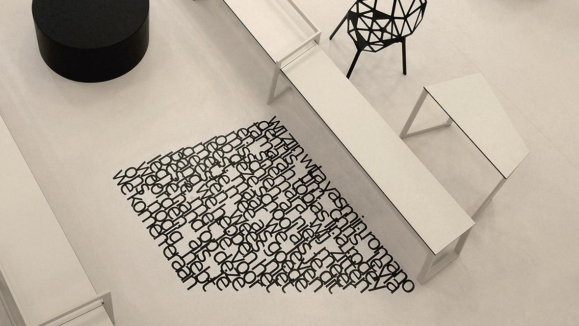 Dekorative gulv