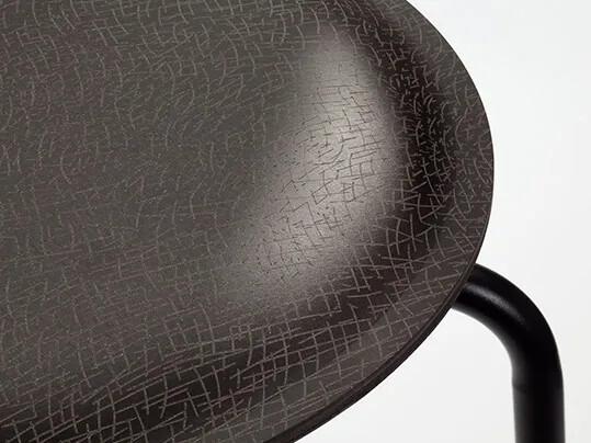 Ravioli stool laser engraving