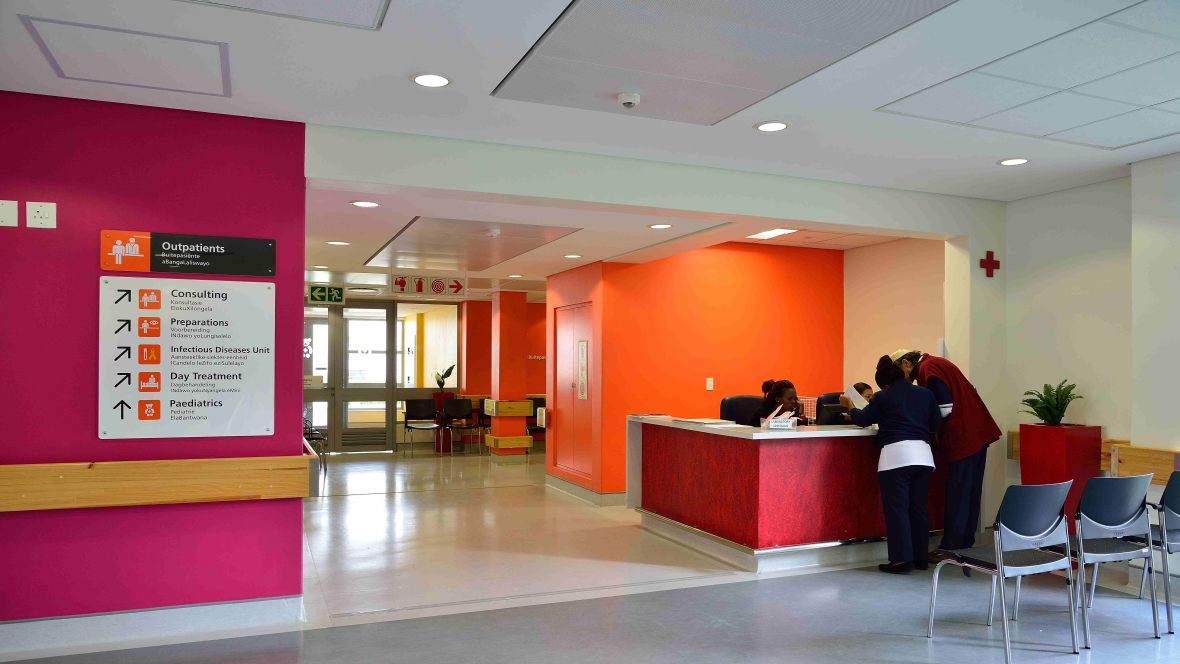 Mitchell's Plain Hospital | Forbo Flooring Systems