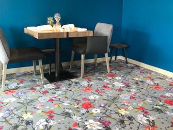 Flotex vision, revêtement de sol textile floqué Forbo Flooring Systems