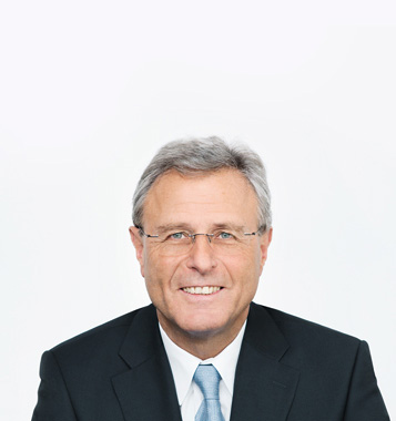 Portrait photograph of This E. Schneider, Executive Chairman of the Board of Directors at Forbo