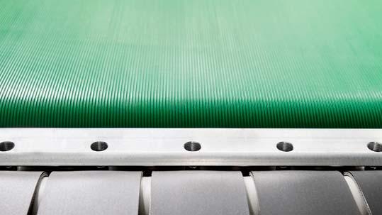 Logistik: Forbo Siegling Biobelt Transportbänder aus nachwachsenden Rohstoffen.
