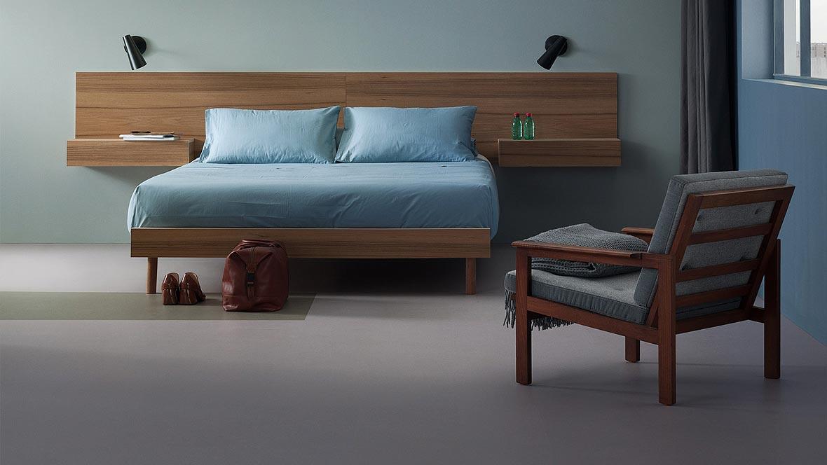 marmoleum - bedroom