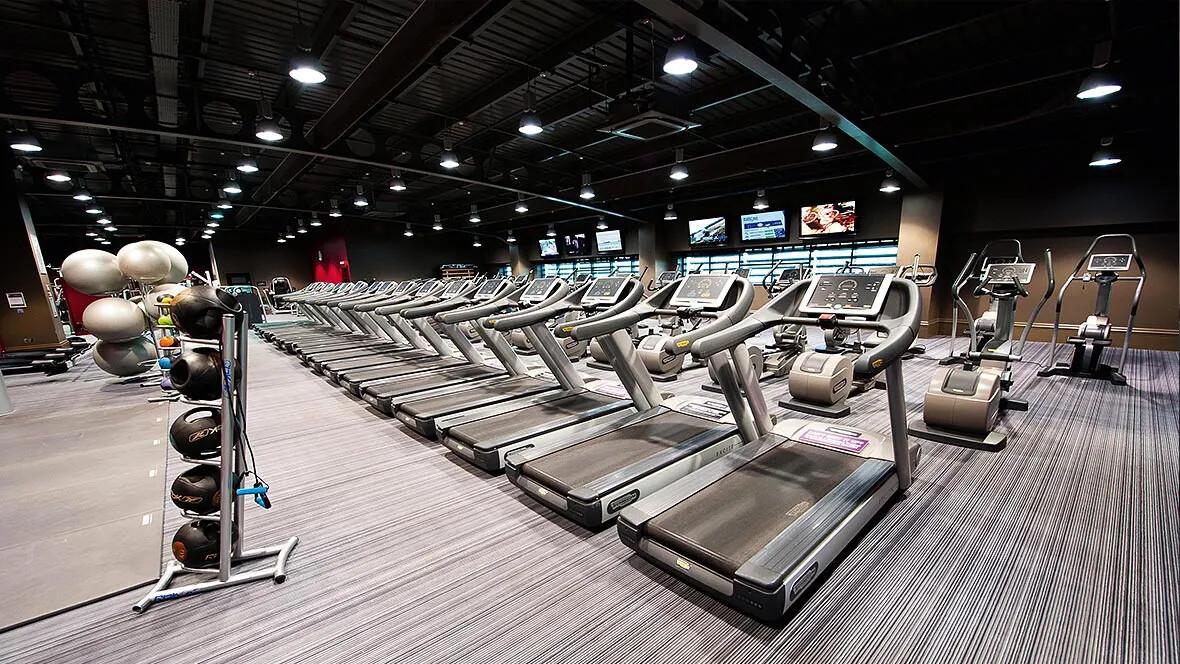 Gym Flooring - FLotex tiles