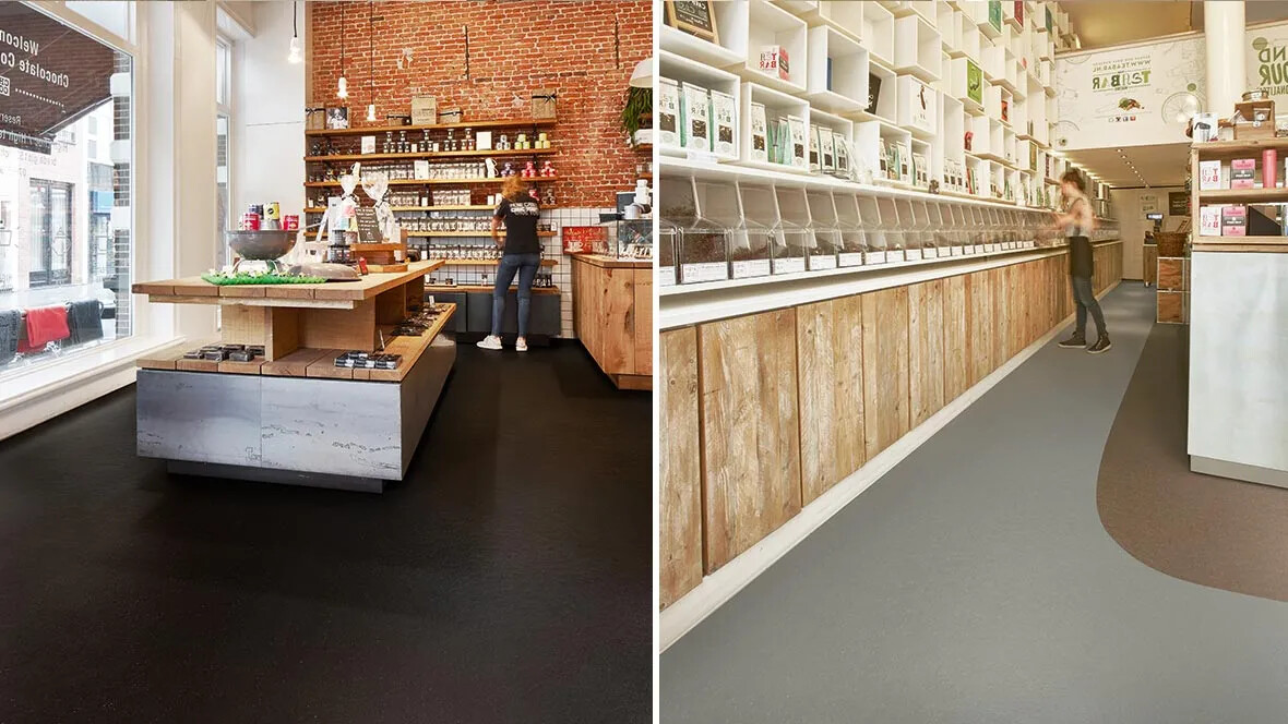 Marmoleum Cocoa 3581 shop & 3580-3582 bar