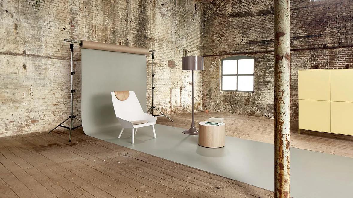 Marmoleum Solid linoleum flooring