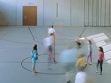 Sporthall Marmoleum Sport