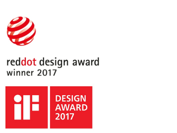 IF Design award and Reddot 2017 NW