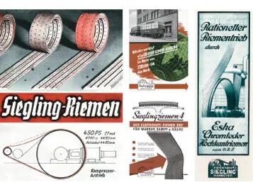 Flachriemen 1930/40 History