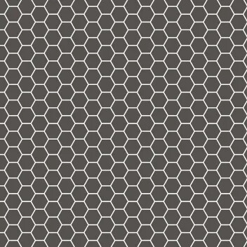 Sol pvc acoustique 2 mètres de large, Novibat Préférence 2s3 de Forbo Floorings Systems, décor tomettes noir et blanc