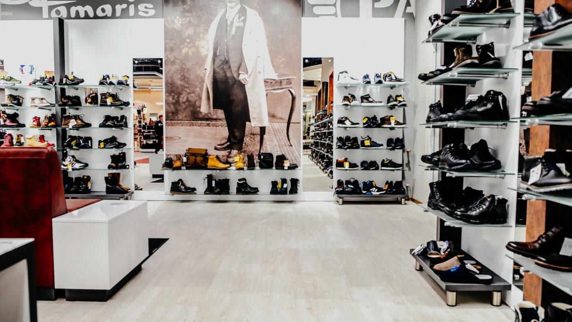 Shoe shop Pokrovsky Russia