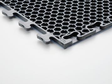 Colorex basic plus kondaktif PVC zemin kaplama alt kilit sistem ızgara