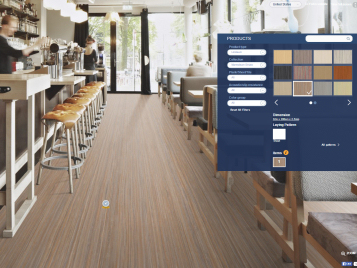 Floorplanner Marmoleum Linear