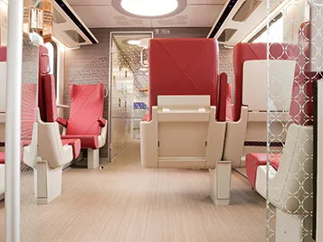 Marmoleum FR Linoléum - NS trains