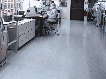 Colorex - Cleanroom conductive flooring