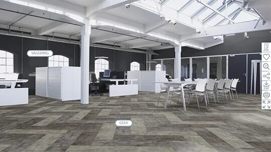 Revêtement de sol souple, floorplanner | Forbo Flooring Systems