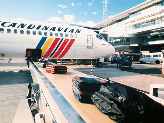 行李处理传送带