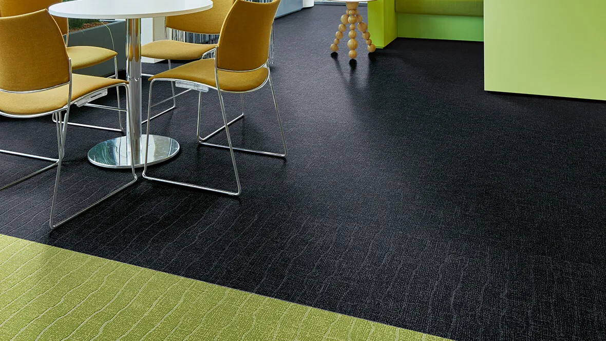Flotex Colour floor - 546005 Nimbus, 546919 Citrus (organic embossed)
