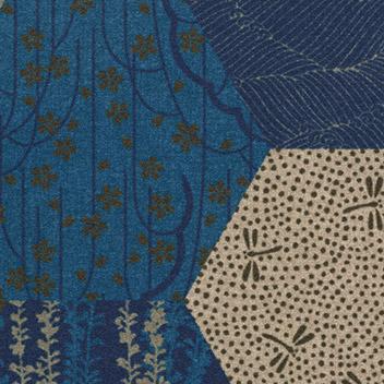 Flotex Vision Showtime - A3 - Kimono Blue