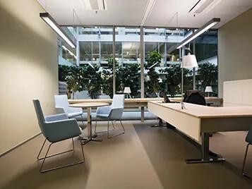 Marmoleum - zastosowanie wykładzin Forbo w obiektach biurowych