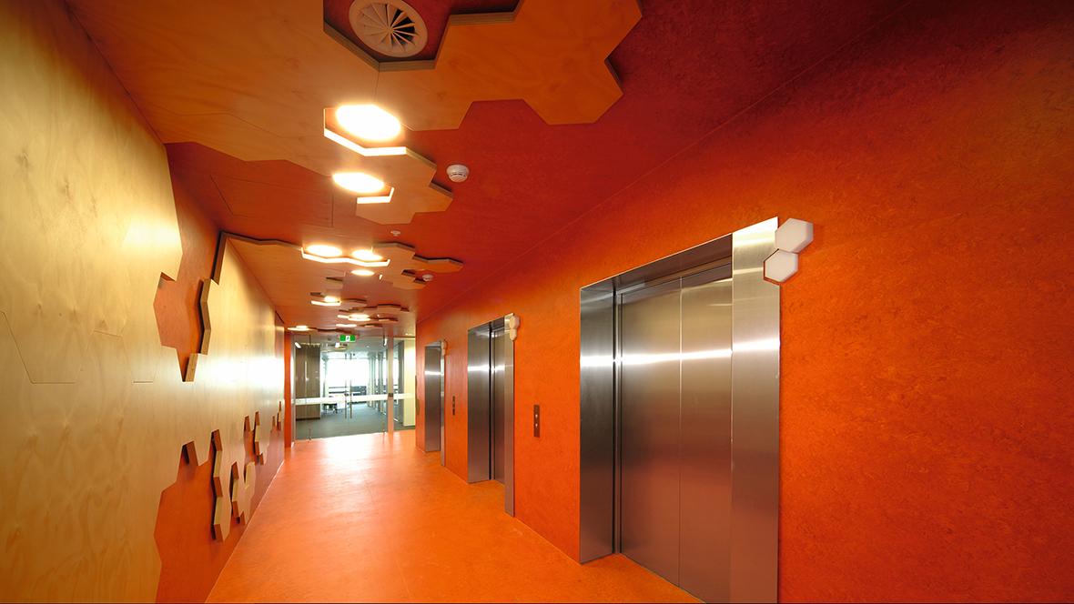 Scitech Library Sydney Flur - Forbo Marmoleum Fresco