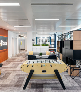 Flotex flocked flooring - textile flooring for commercial office interiors