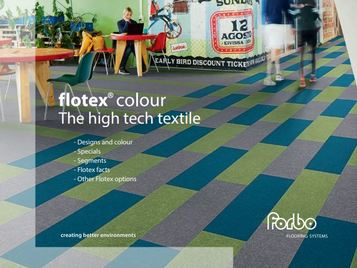 Folleto Flotex Colour