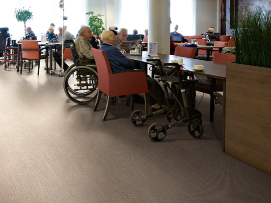Dining Room in Aged Care Example