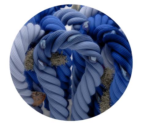 Revêtement de sol textile floqué fibre