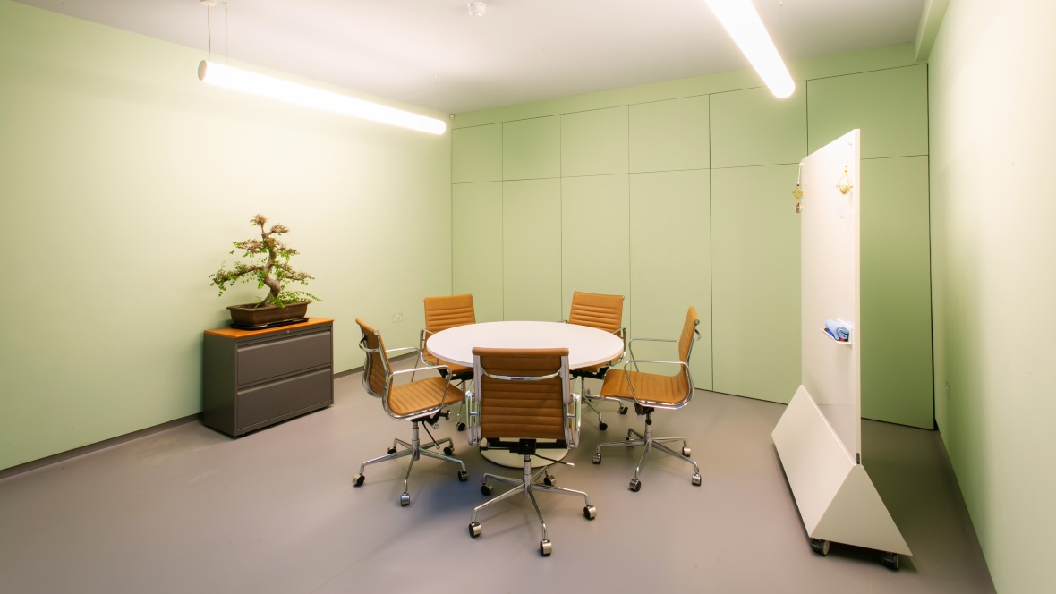 Avalon Wellbeing Centre Green Room Marmoleum Walton