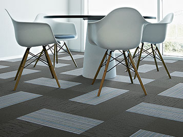 Flotex Cityscape embossed tiles