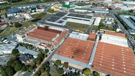 Revêtement de sol souple professionnel, usine de REIMS   Forbo Flooring Systems