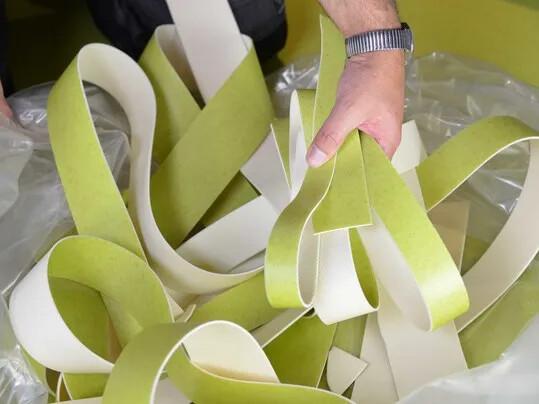 Recyclage des chutes PVC, revêtement de sol | Forbo Flooring Systems