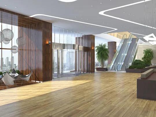 Revêtement de sol PVC Modul'up pose non collée hôtel | Forbo Flooring Systems