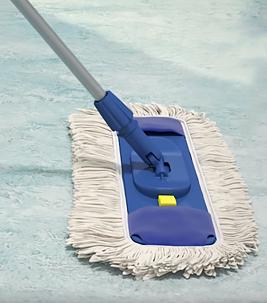 Cleaning marmoleum
