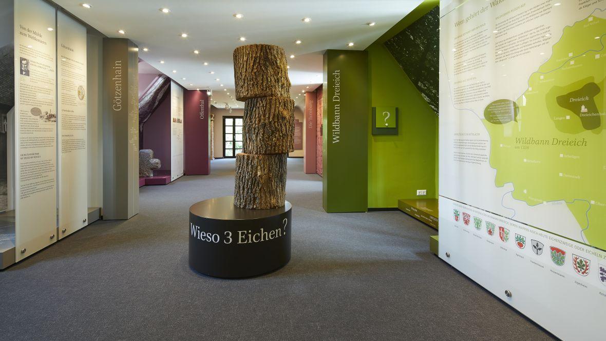 Heimatmuseum Dreieich Blick in den Ausstellungsraum – Forbo Flotex Metro