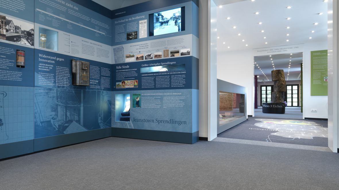 Heimatmuseum Dreieich Ausstellungsraum des Museums – Forbo Flotex Metro