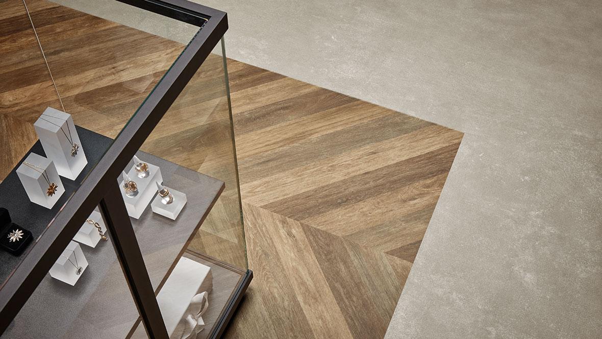 Revêtement de sol PVC imitant parquet et effet béton Eternal | Forbo Flooring Systems