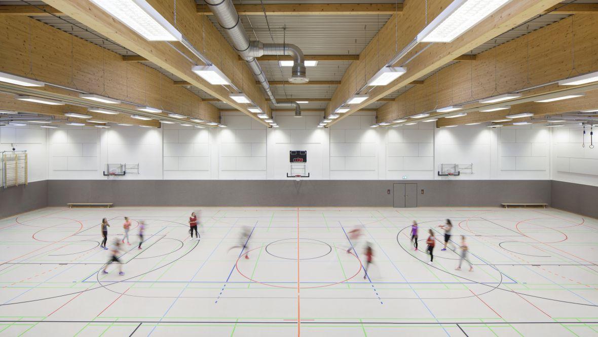 Leonore-Goldschmidt-Schule Sporthalle – Forbo Marmoleum Sport