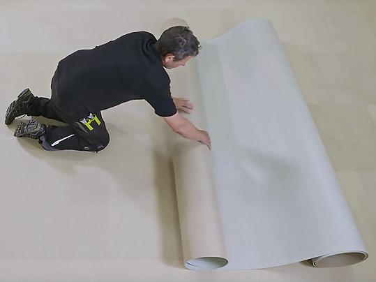 Installing Marmoleum