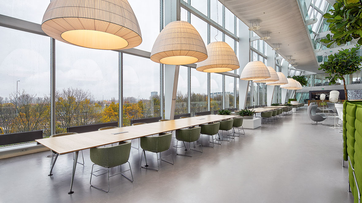 The Edge – Deloitte office, Amsterdam, Photo: Ronald Tilleman